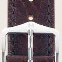 Hirsch Uhrenarmband Leder Highland braun L 04302010-2-19 19mm