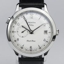 Zenith Class Elite Dual Time GMT like new
