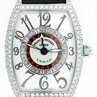 Franck Muller Men's  Diamond Roulette Vegas Watch White...