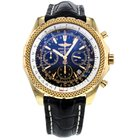 Breitling Bentley Motors Special Edition Yellow Gold Black...