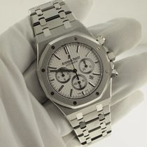 Audemars Piguet Royal Oak Chronograph White Dial 41mm I Series...