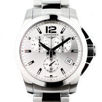 Longines Conquest Chronograph 41mm white - L3.660.4.76.6