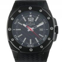 Davosa Performance Titan Black Automatik Chronograph Armband...