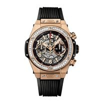 Hublot Big Bang Unico 45mm Automatic 18K King Gold Mens Watch...