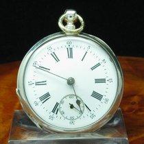 John Wycherley 800 Silber Open Face Taschenuhr Schlüsselaufzug...