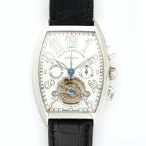 Franck Muller Platinum Chronograph Tourbillon Ref. 7850CCT