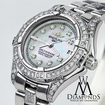 Breitling Colt Oceane A77350 Watch, Stainless Steel Diamond...