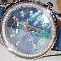Breitling Navitimer Datora Chronograph Stainless Steel Diamonds