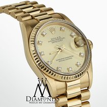 Rolex Ladies Rolex Presidential Datejust 18k Yellow Gold...