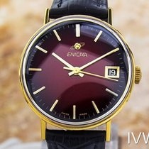 Enicar Men's Rare Enicar Manual Wind Gold Plated 1965...