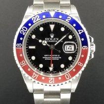 Rolex GMT Master II Ref. 16710 Pepsi Bezel Stainless Steel...