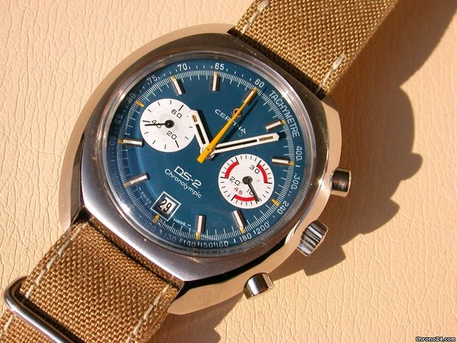 Certina DS2 Chronolympic Chronograph
