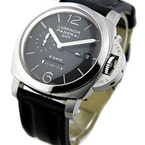 Panerai PAM00233 PAM 233 - 1950 GMT 8 Day - DOT DIAL - Brushed...