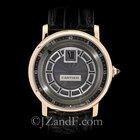 Cartier Rotonde de Cartier Men's Watch 18K Rose Gold Jump...