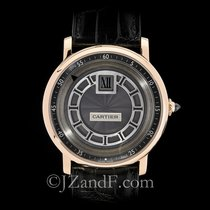 Cartier Rotonde de Cartier Men's Watch 18K Rose Gold Jump...