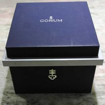 Corum vintage watch box blu