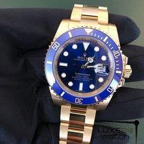 Rolex Submariner 40mm Yellow Gold Ceramic 116618LB