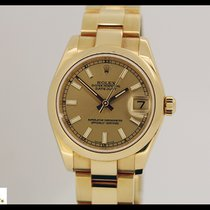 Rolex Datejust 178248 18k Gold with gold bracelet