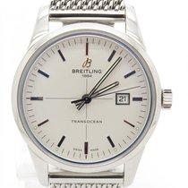 Breitling Transocean Steel Men's Automatic Watch 43mm...
