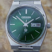 Citizen Vintage Green Automatic Mens 1970s Japanese Made Watch...