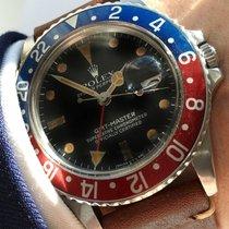 Rolex Vintage Rolex GMT Master 1 Plexiglas 16750 Pepsi  brown...
