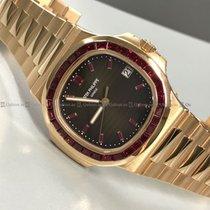 Patek Philippe - Nautilus 5723/1R-001 Diamond Bezel Brown Dial...
