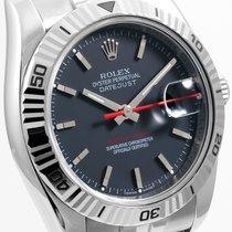 "Rolex Mens ""New Style"" Turn-O-Graph Datejust - Black..."