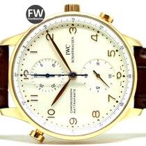 IWC Portuguese Rattrapante Chronograph Rose Gold