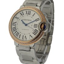 Cartier we902081 Ballon Bleu 36mm Steel and Rose Gold - On...