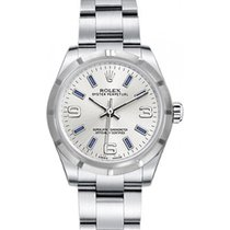 Rolex Oyster Perpetual 31 Ladies Midsize 177210-SLVBSAO 31mm...