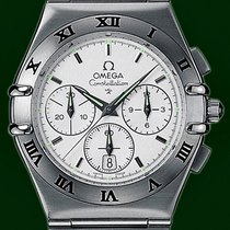 Omega Constellation 39mm Hybrid Chronograph Stainless Steel