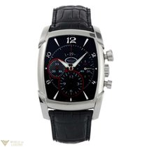 Parmigiani Fleurier Kalpagraph Stainless Steel Black Men`s Watch