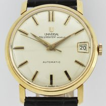 Universal Genève POLEROUTER 18K AUTOMATIC  MICROROTOR DATE