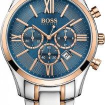 Hugo Boss AMBASSADOR ROUND 1513321 Elegante Herrenuhr Zeitlose...