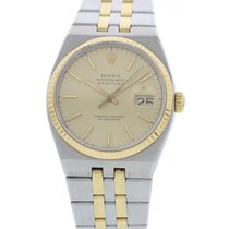 Rolex Men's Rolex Oysterquartz Datejust 18k YG & S/S...