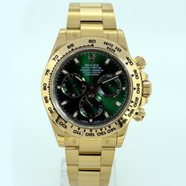 Rolex Cosmograph Daytona 116508 Yellow Gold Green Dial