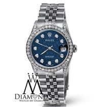 Rolex Ladies Rolex Datejust 26mm Blue Dial Jubilee Bracelet...