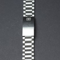 Omega Watchstrap Stainless Steel Length: 15,5 cm Width: 20 mm