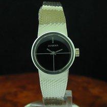 Dugena 925 Sterling Silber Handaufzug Damenuhr / Ref 205 /...
