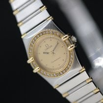 Omega Constellation diamonds diamants lady