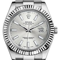 Rolex Datejust II Silver Index - 126334