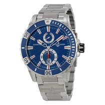Ulysse Nardin Maxi Marine Diver Stainless Steel Mens Watch...