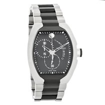 Movado Verto Mens Black TiCN Swiss Chronograph Quartz Watch...