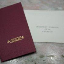 Vacheron Constantin rare vintage warranty booklet and papers
