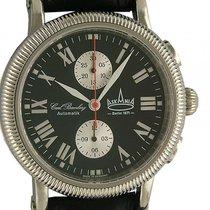 Askania C. Bamberg Automatik Chronograph Lederband 44mm