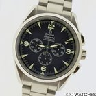 Omega Railmaster 25125200 Stainless Steel Automatic Chrono Watch