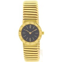 Bulgari Ladies  Tubogas 18k Yellow Gold 4057