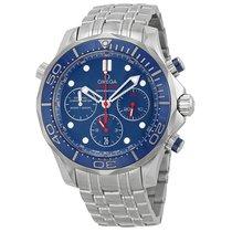 Omega Seamaster 300  44mm Diver Blue Dial 21230445003001