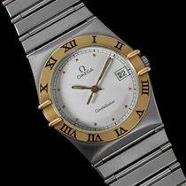 Omega Constellation Mens 35mm Watch, Quartz, Date - Brushed...