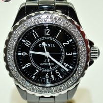 Chanel J12 Ceramic with Diamonds